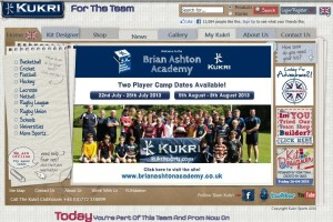 Brian Ashton Kukri webiste page