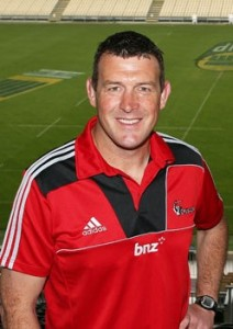 Dave Hewitt Crusaders Scrum Coach