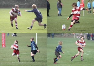 The National 7s Crusade started in the Junior (U13) Tournament...
