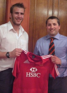 Tom Croft was guest of honour at the 2010 Denstone College Rugby Club dinner...