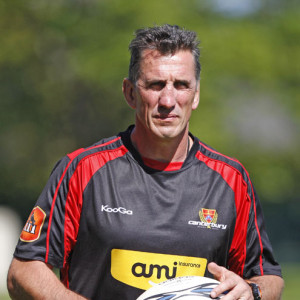 Rob Penney (Head Coach Canterbury NPC)