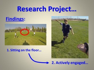 Research Project Findings PLAYER