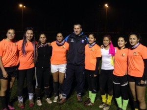The Ladies from Temuco Rugby Club...