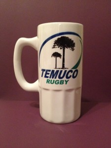 The Temuco Rugby Club logo based on the Leinster logo...