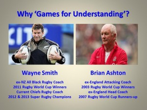 Why use TGfU...Wayne Smith and Brian Ashton