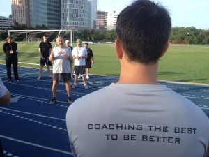 """Coaching the BEST to get BETTER…"""