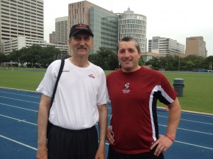 World renowned Sprint Coach Gary Winckler