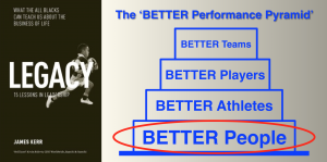 BETTER people...